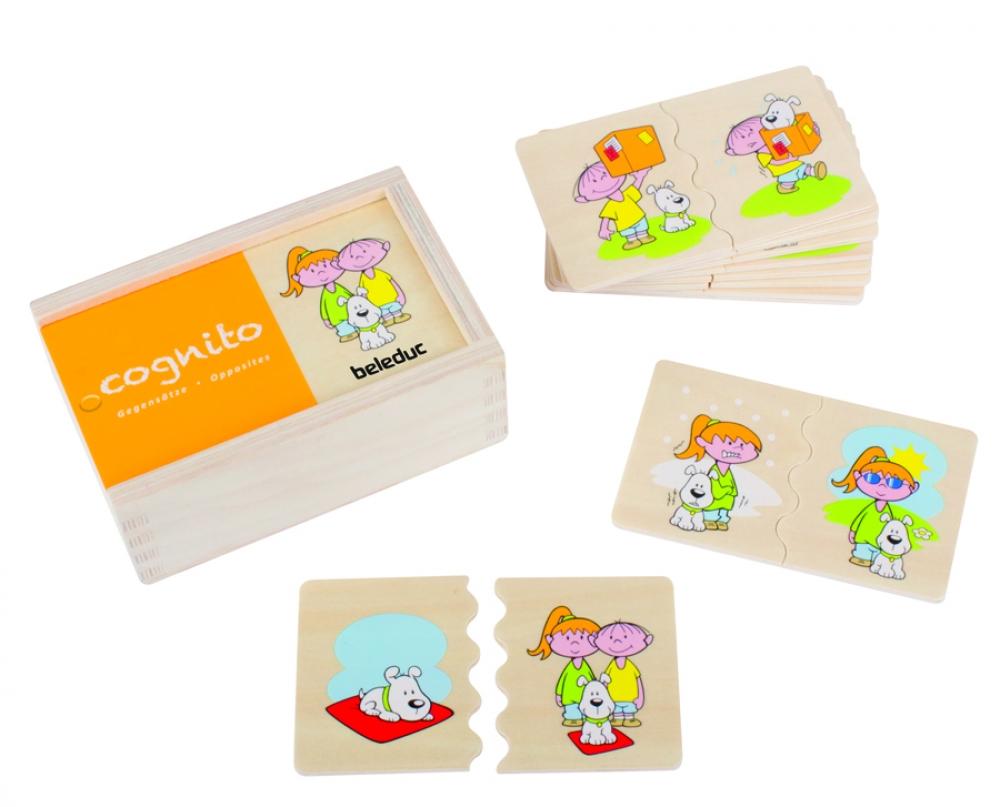Joc de puzzle Cognito - Antonimele
