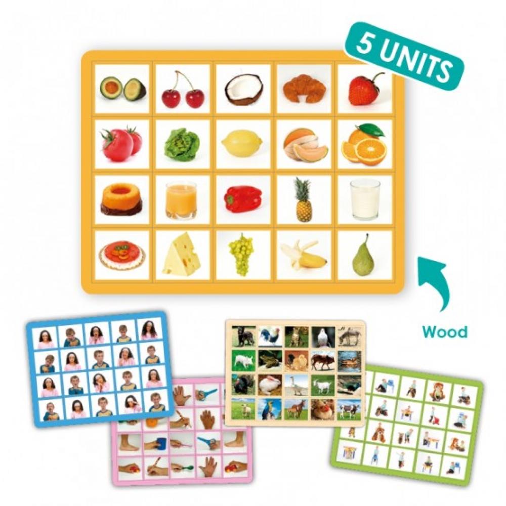 Set de 5 jocuri loto cu fotografii