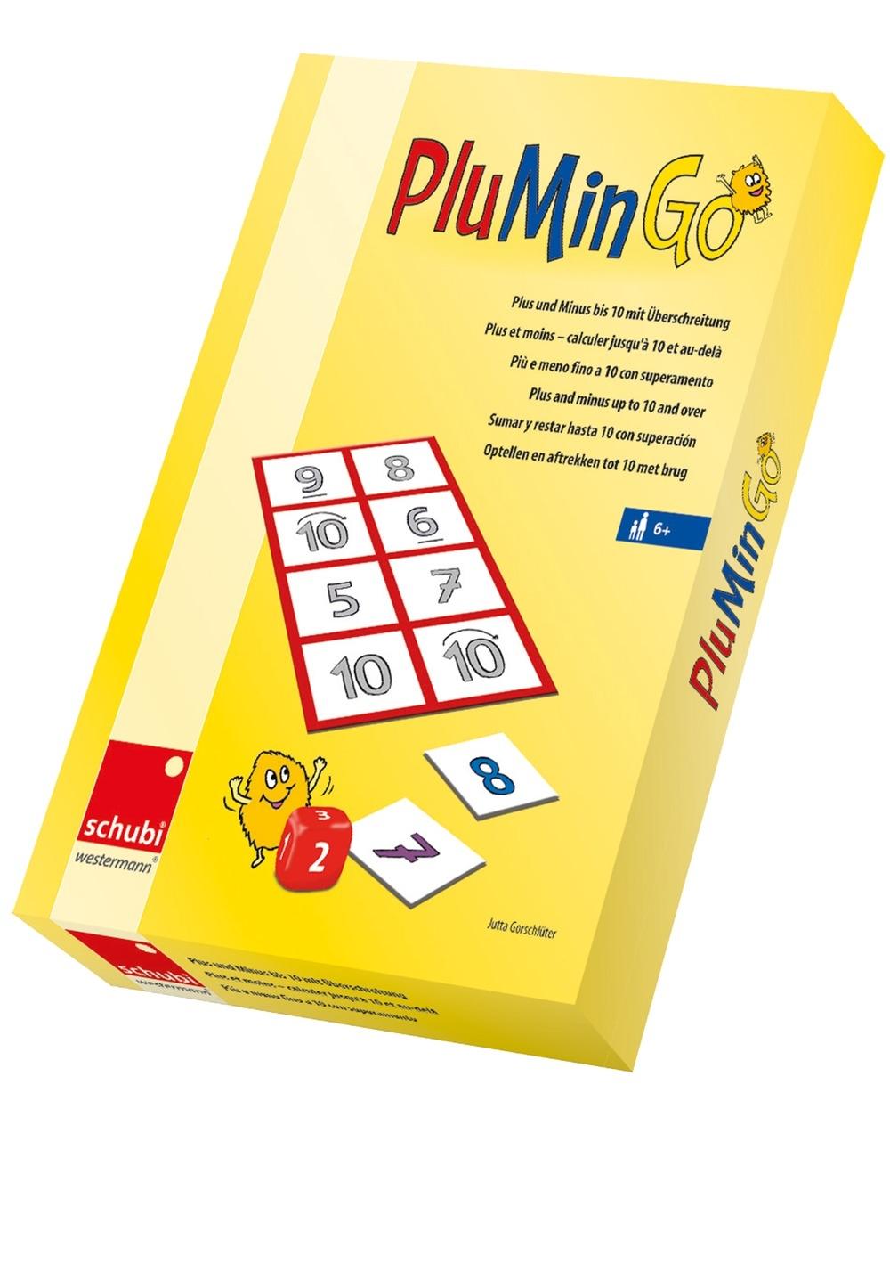 PluMinGo - Adunarea și scăderea numerelor până la 10