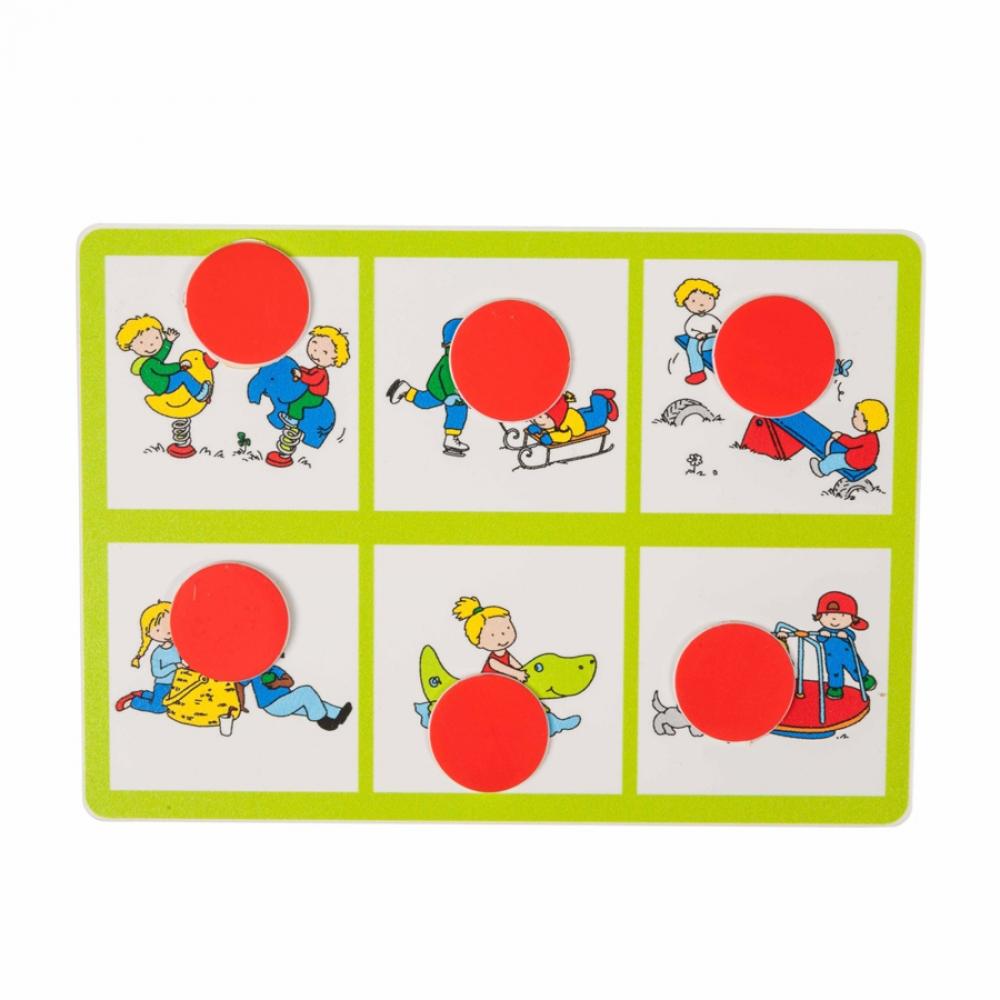 Joc bingo - Carduri cu imagini