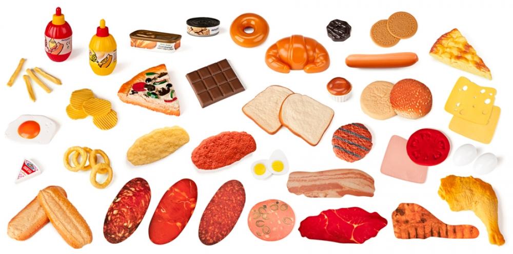 Set de 52 de figurine – Alimente fast food